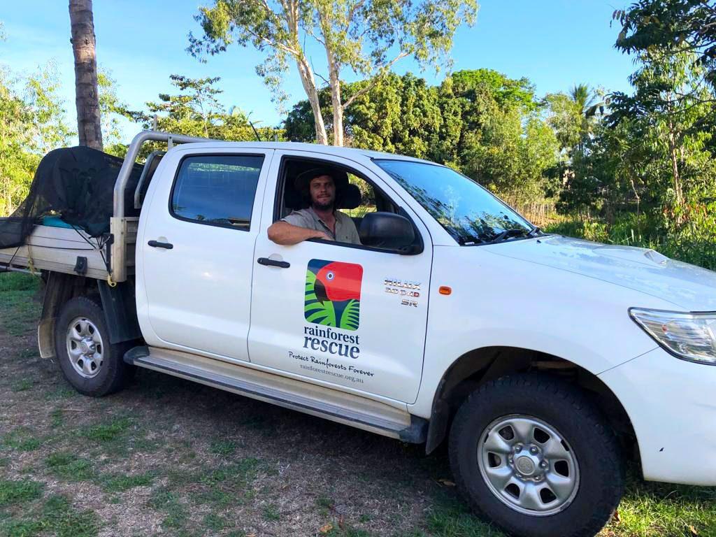 Grant Morrison Daintree Land Manager Rainforest Rescue