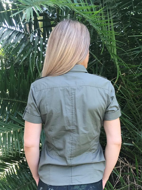 Women's Short Sleeve Ranger Shirt (back)