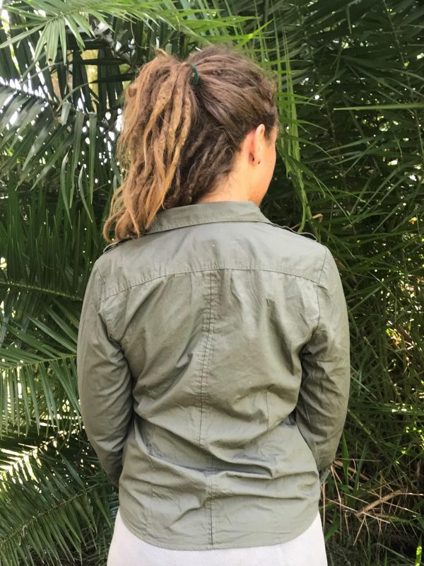 Women's Long Sleeve Ranger Shirt (back)