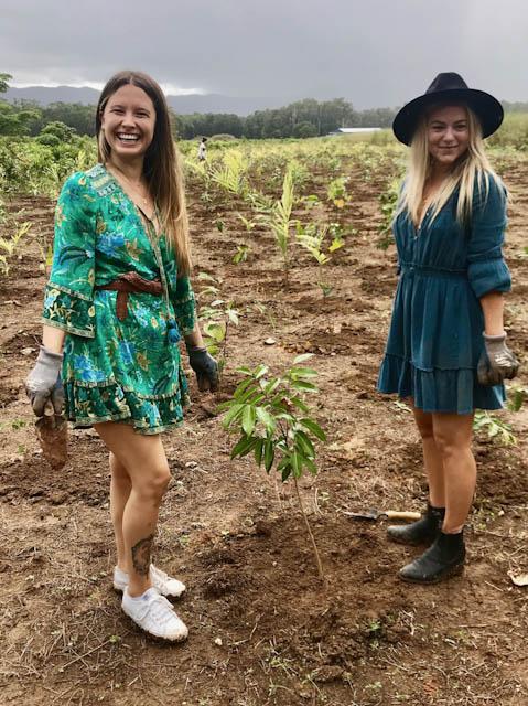 Gold Partner Arnhem Clothing at the 2019 Tree Planting'