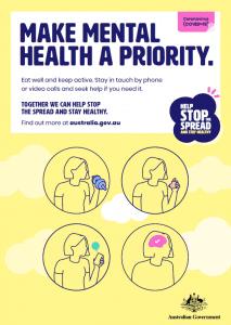 COVID-19 Make Mental Health A Priority