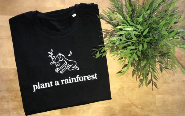 black plant a rainforest tshirt