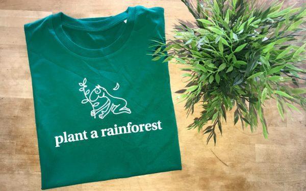 green plant a rainforest tshirt