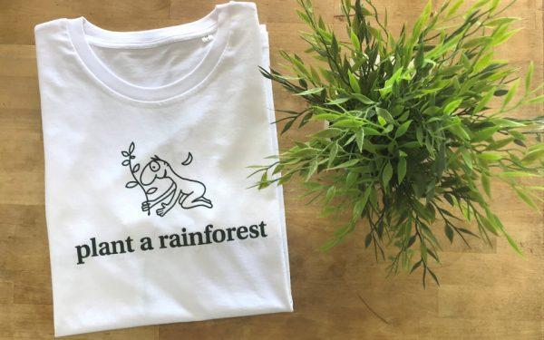 white plant a rainforest tshirt
