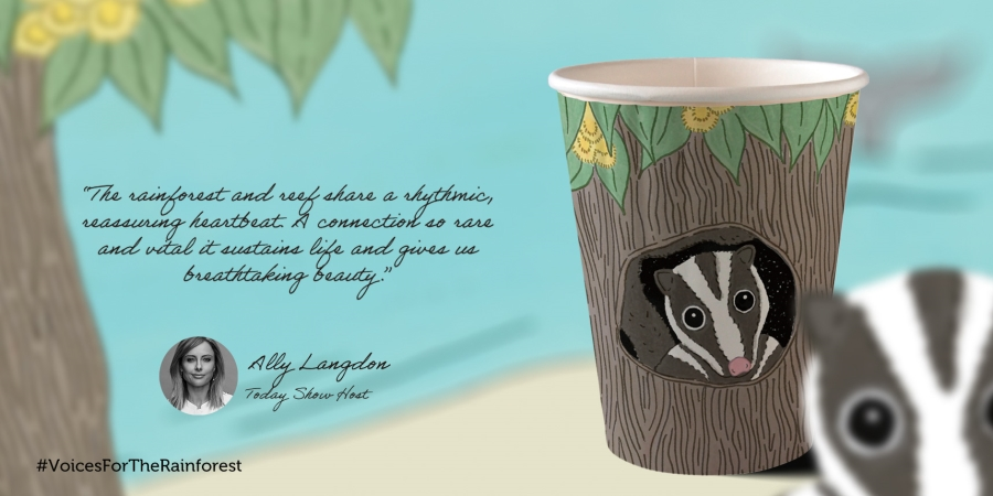 Ally Langdon #VoicesForTheRainforest Cup