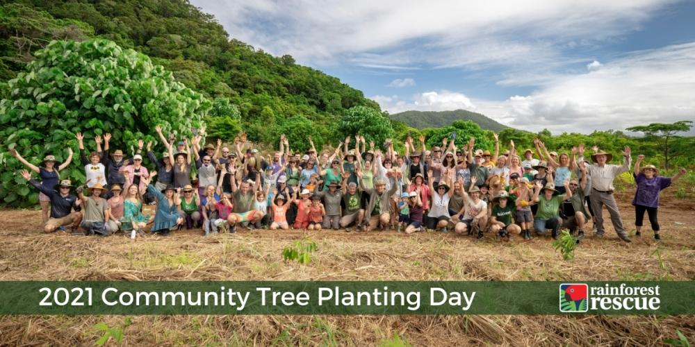 2021 Annual Community Tree Planting