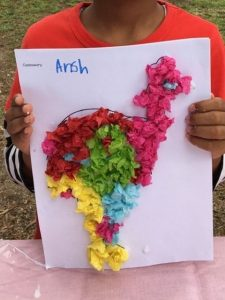 Cassowary Craft at Amber & Penny's Fun Day