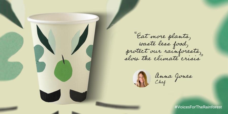 Anna Jones Voices For The Rainforest Cup