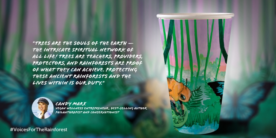 Candy Marx #VoicesForTheRainforest Cup