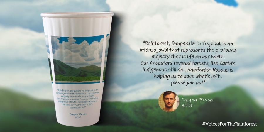 Caspar Brace Voices For The Rainforest Cup
