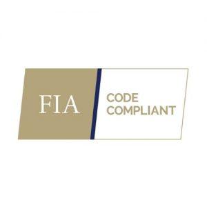 FIA Code Compliant