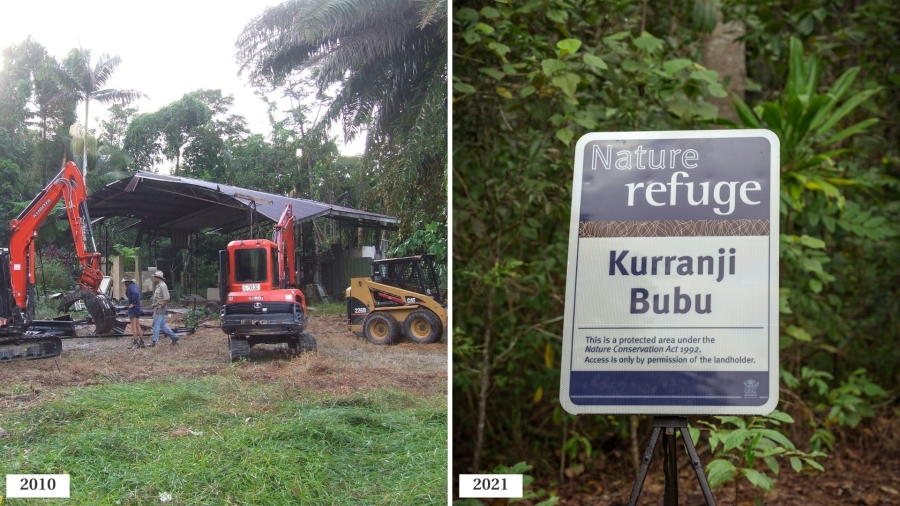 Kurranji Bubu (Lot 46) 2010 vs 2021