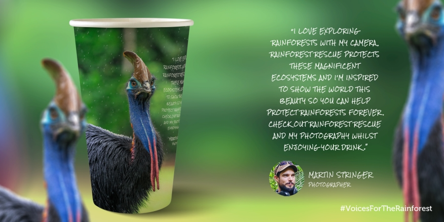 Martin Stringer Voices For The Rainforest Cup