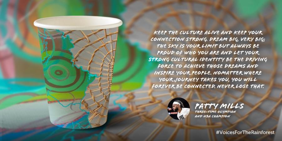 Patty Mills #VoicesForTheRainforest Cup